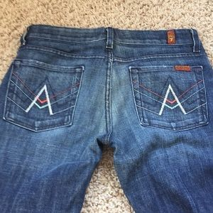 7 for All Mankind 7FAM Jeans 28 A Pocket EUC 4